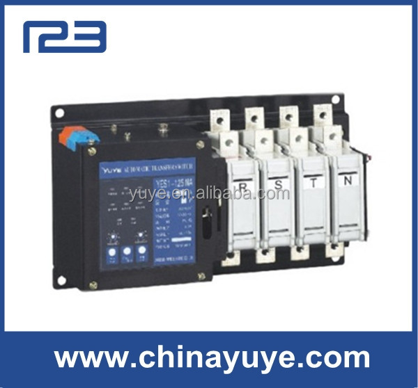 400a 220v Single Phase Pole Electrical Transfer Electric Automatic ...
