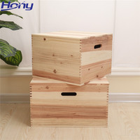 Strong Large Cedar Wood Hamper Gift Boxes