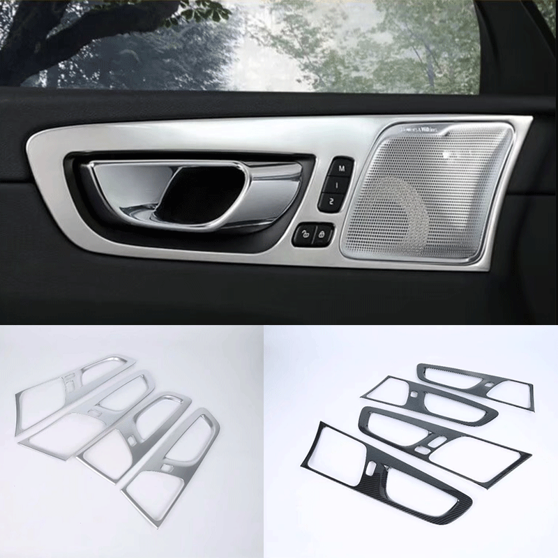 Car Accessories Exterior Decorationinner Door Handle Cover Body Kit For  2018 Volvo Xc60 - Buy Inner Door Handle Cover For 2018 Volvo Xc60,Abs  Chrome