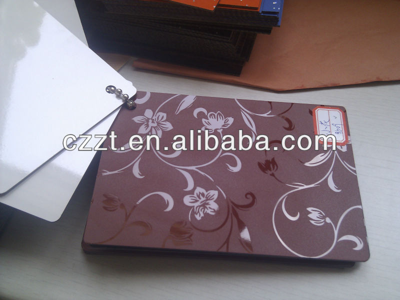 HPL/compact board/high pressure laminate/compect/embossed/embossed flower