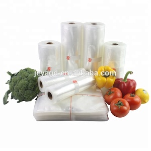 China Suppliers Heat Sealing Plastic Embossed Food Storage Vacuum Sealer Bag and Roll