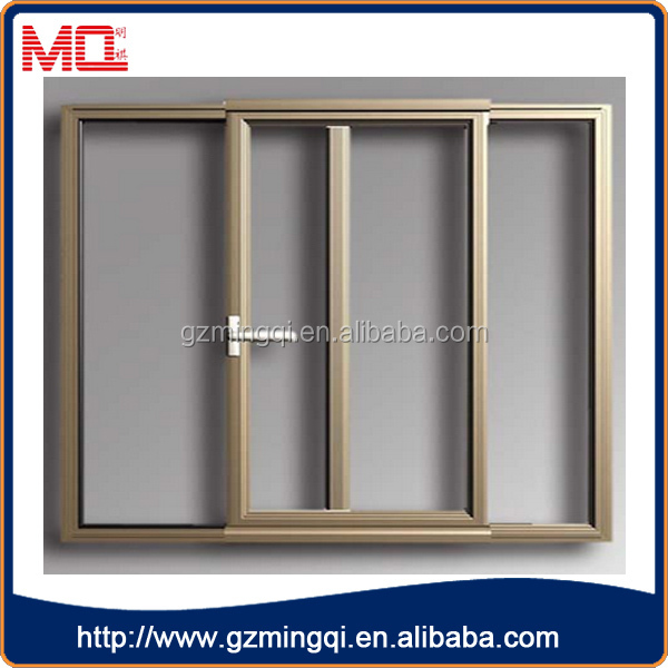 Aluminum Windows Product : Cheap price double glass sliding windows aluminium