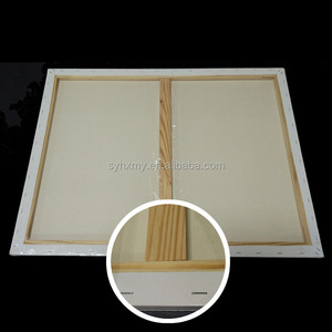 60cm*80cm Blank cotton linen blended canvas simply blank art stretched canvas