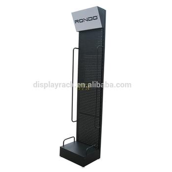 Exhibition Stand Accessories : Belt display stand with side bars car accessories exhibition