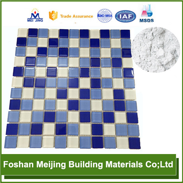 high quality solvent domino building blocks for glass mosaic