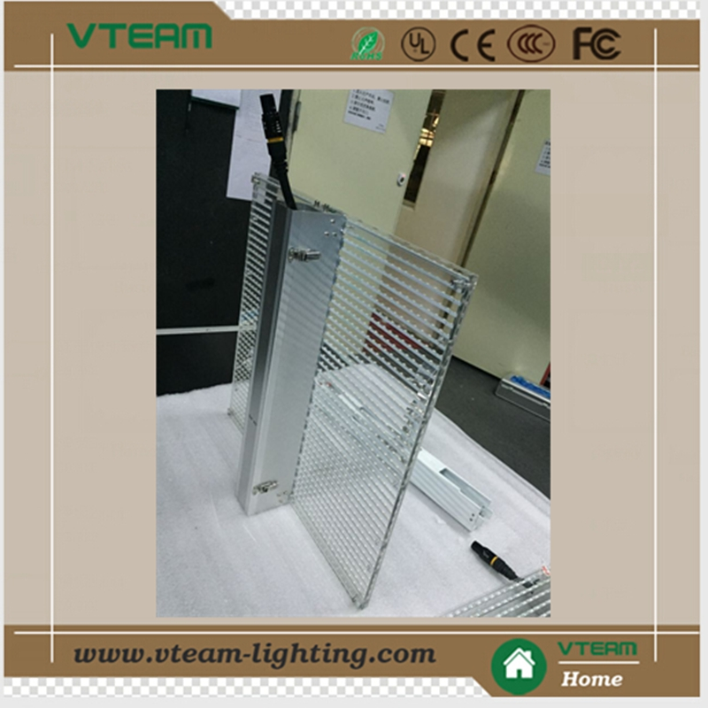 Transparent led display used for showcase , glass window , media facade.
