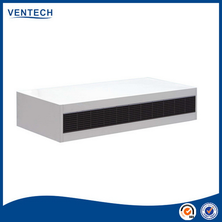 China gold supplier special fan coil unit for duct installation