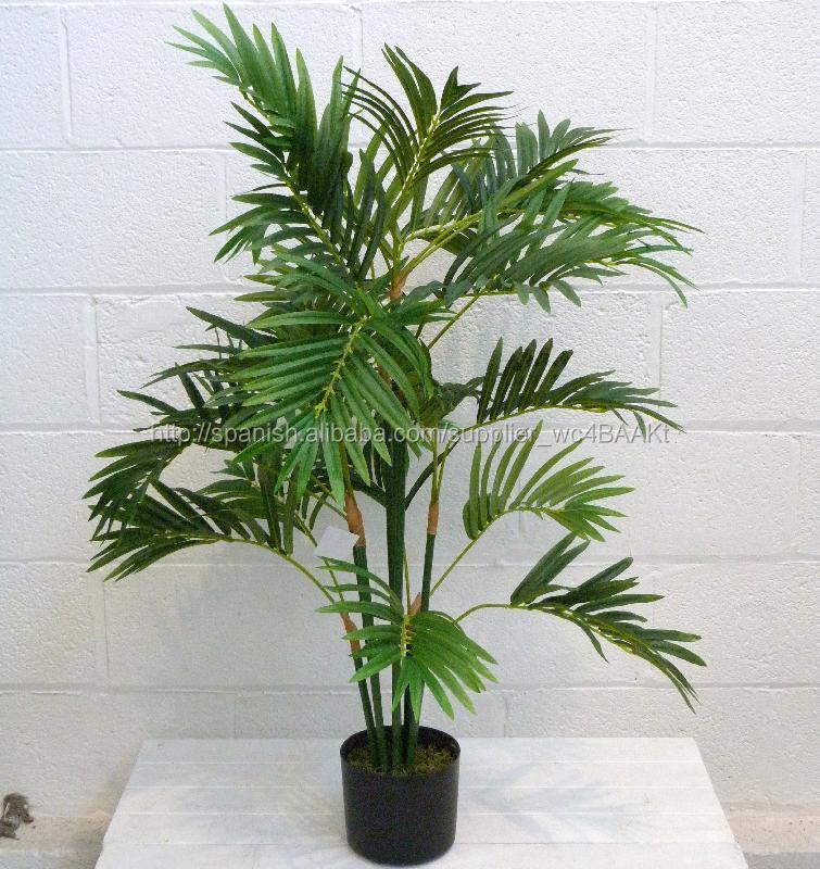 Alta calidad artificial phoenix palmera decorativ interior for Palmeras de interior