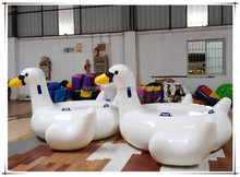Newest inflatable ride-on pool toy, big inflatable toys, inflatable water white duck