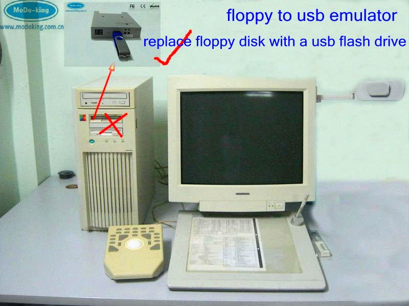 Floppy Drive Emulator For Ibm Pc /general Old Motherboard - Buy Floppy  Drive Emulator,Floppy To Usb Emulator,Floppy To Usb Emulator Product on