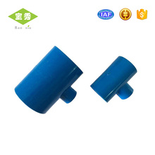 Available Wholesales plastic pipe reducing pvc fittings cross tee