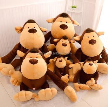 Monkey Plush Toy Giant Monkey Chimpanzee Jungle Plush Stuffed