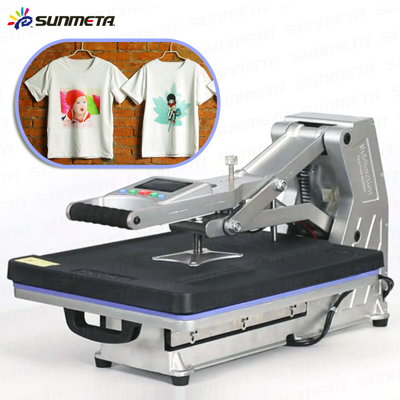 Cheap used t shirt heat press machine st 4050 heat press for Cheapest t shirt printing machine