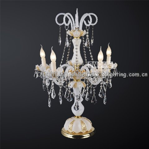 Crystal Candelabra Table Lamp, Crystal Candelabra Table Lamp Suppliers And  Manufacturers At Alibaba.com
