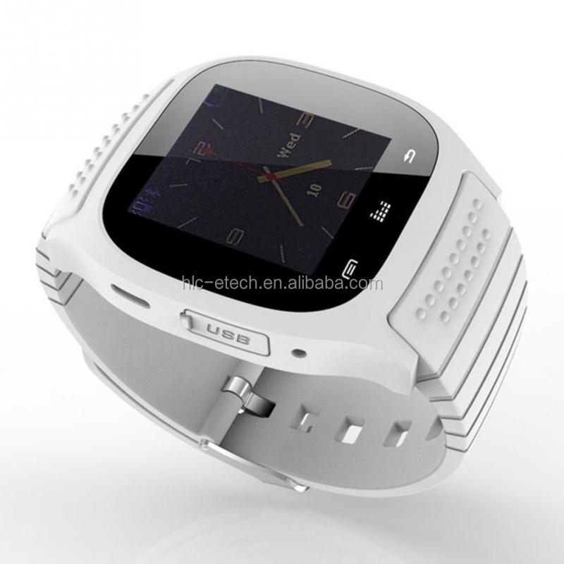 Wholesale Original 2016 Cheap price low cost bluetooth smart watch mobile phone m26 with parometer and altimeter
