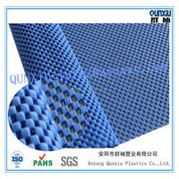 Eco friendly PVC foam non slip floor carpet rug pad