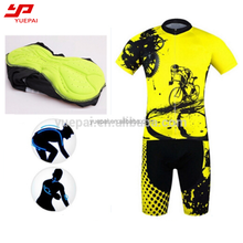High quality sublimation cycling short sleeve jersey road bike jersey