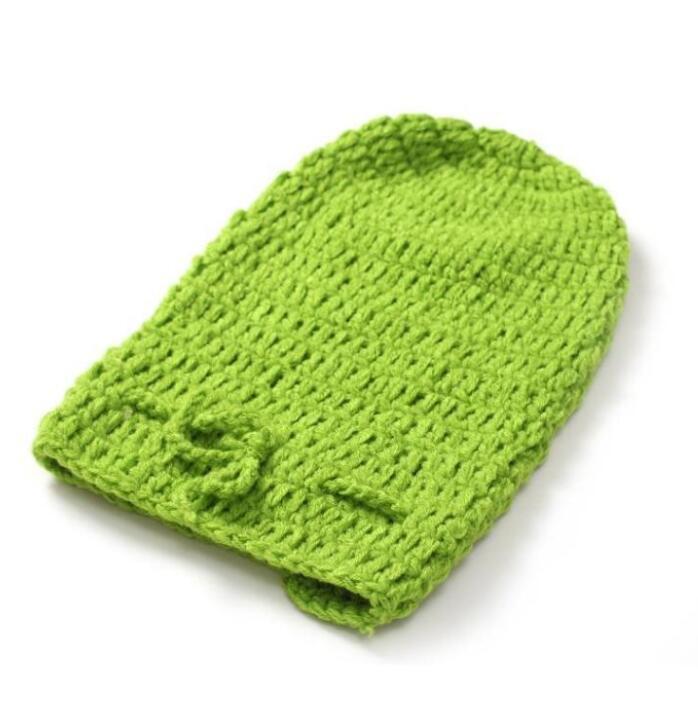 Crochet Recién Nacido Swaddle Sack Girasol Capó Sombrero Con Cocoon ...