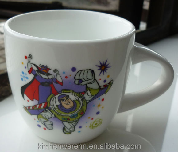 KC-572 new design hot selling bistro ceramic mug with customized printing
