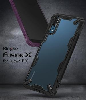 best cheap 3cf56 09bc3 Ringke Fusion X For Huawei P20/pro Case Dual Layer Heavy Duty Drop  Protection Pc Clear Back Cover And Soft Tpu Frame Hybrid - Buy Ringke  Fusion X For ...
