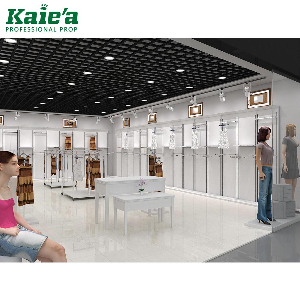 34cb481969a China fashion ladies garment shop names interior design clothes showroom  cloth shop interior design
