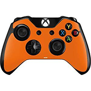 Solids Xbox One Controller Skin - Orange Vinyl Decal Skin For Your Xbox One Controller