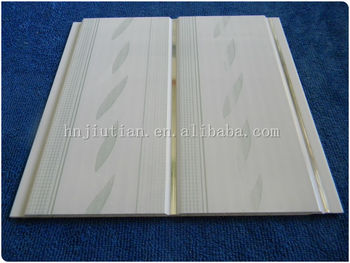 Building Material Groove Pvc Panel And Ceiling Plastic Tiles Roof For Bathroom Walls