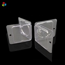 Clear Cosmetic Plastic Packaging Eyeshadow Clamshell