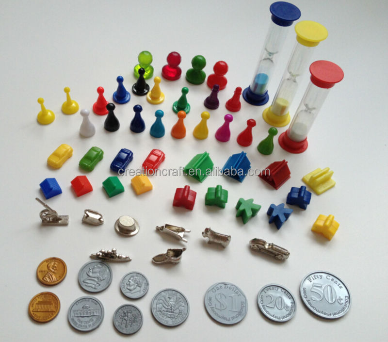 customized die cut paper cardboard hexagonal counters tokens