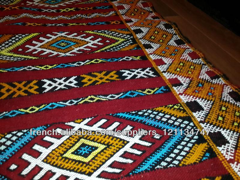 Grossiste Tapis Marocain Tapis Kilim Berber Marocain 200cm X 126cm