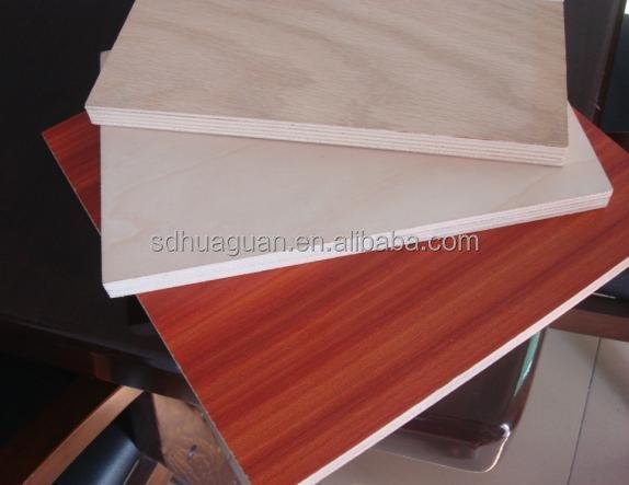 Paper Faced Plywood ~ Ft melamine papier geconfronteerd multiplex voor