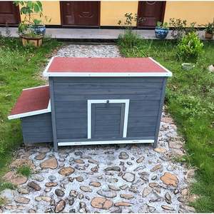 SDC007-T Wooden duck rooster chicken hen house for sale