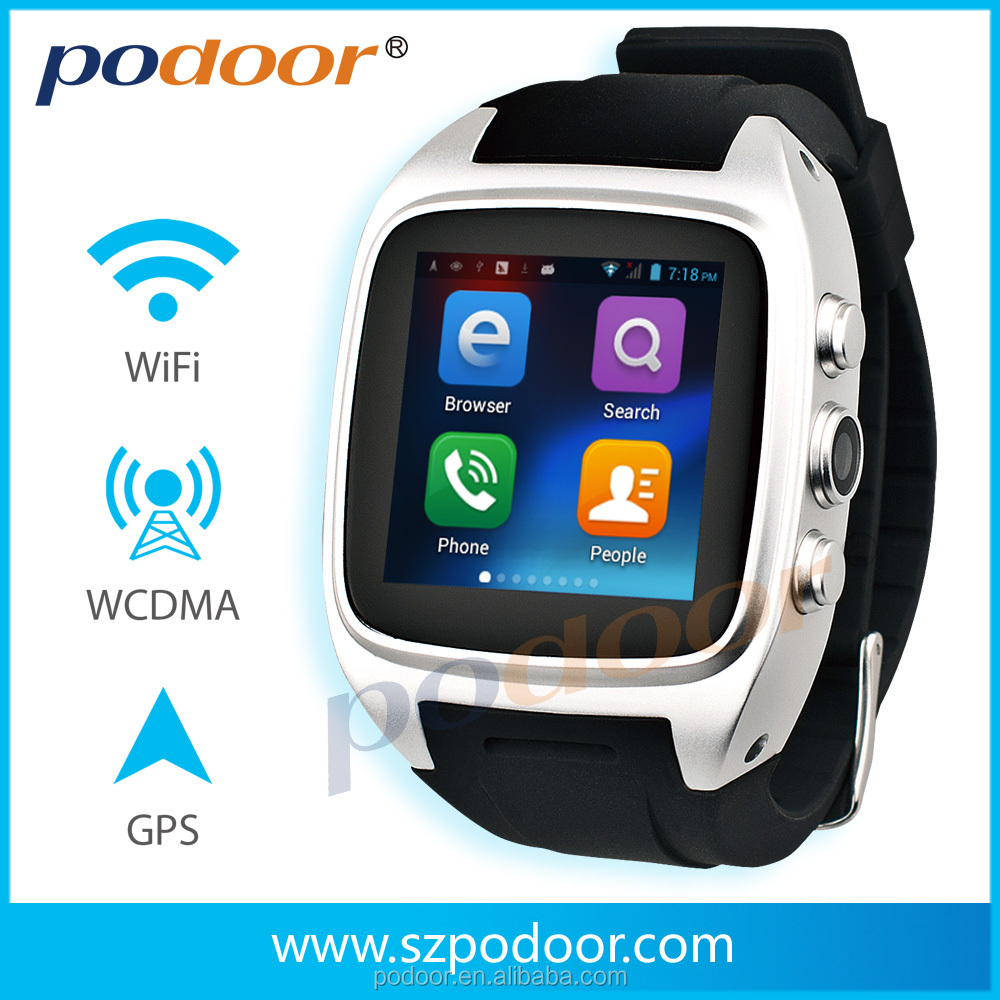 4g watch phone pw306II smart watch android google play GPS compass pedometer waterproof 3g android 4g watch phone