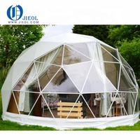 6 diameter events luxury hotel transparent dome tent for camping