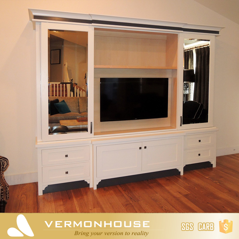 2018 Hangzhou Vermont Modern Design Wardrobe With Showcase TV Cabinet  Fashion Living Room Furniture