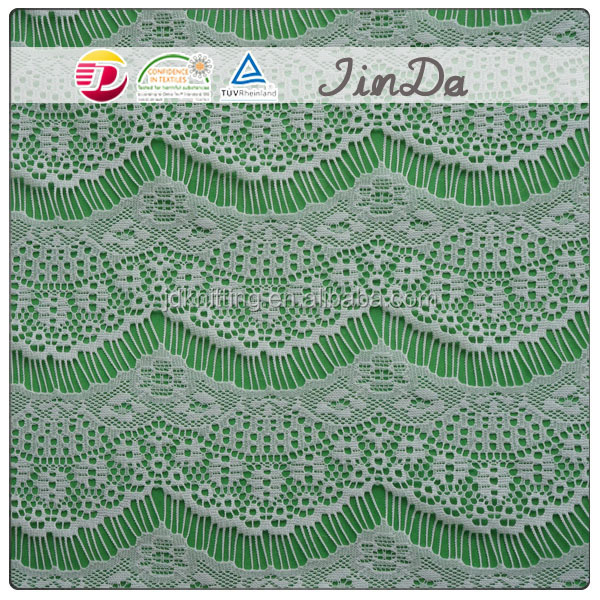 Flower Pattern Chemical Embroidery Design Allover Lace Fabric ...
