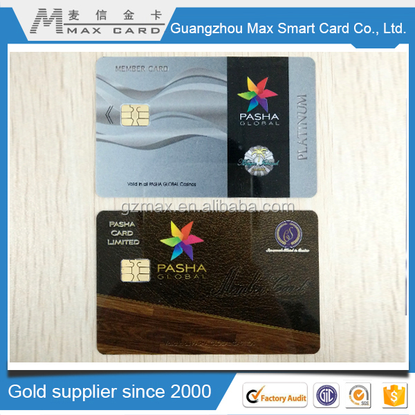 Hot Selling Plain white, CMYK or Pantone color IC card With best price