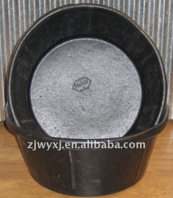 Rubber Feed Trough: Recycled Tyre Rubber Tubs Feed Trough Rubber Tub Rubber