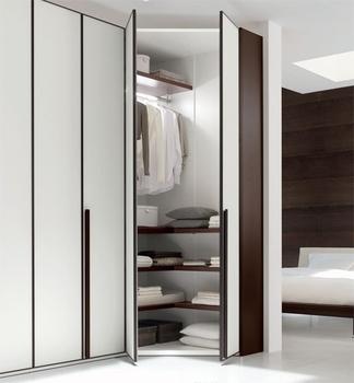Haute Brillance Mdf Moderne Design Double Couleur Armoire Chambre