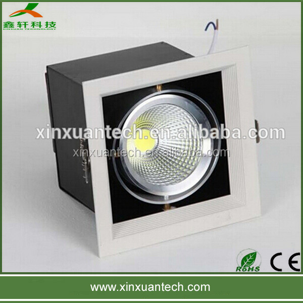 12w down light warm white/cool whtie mounted surface adjustable 12 watt led downlight
