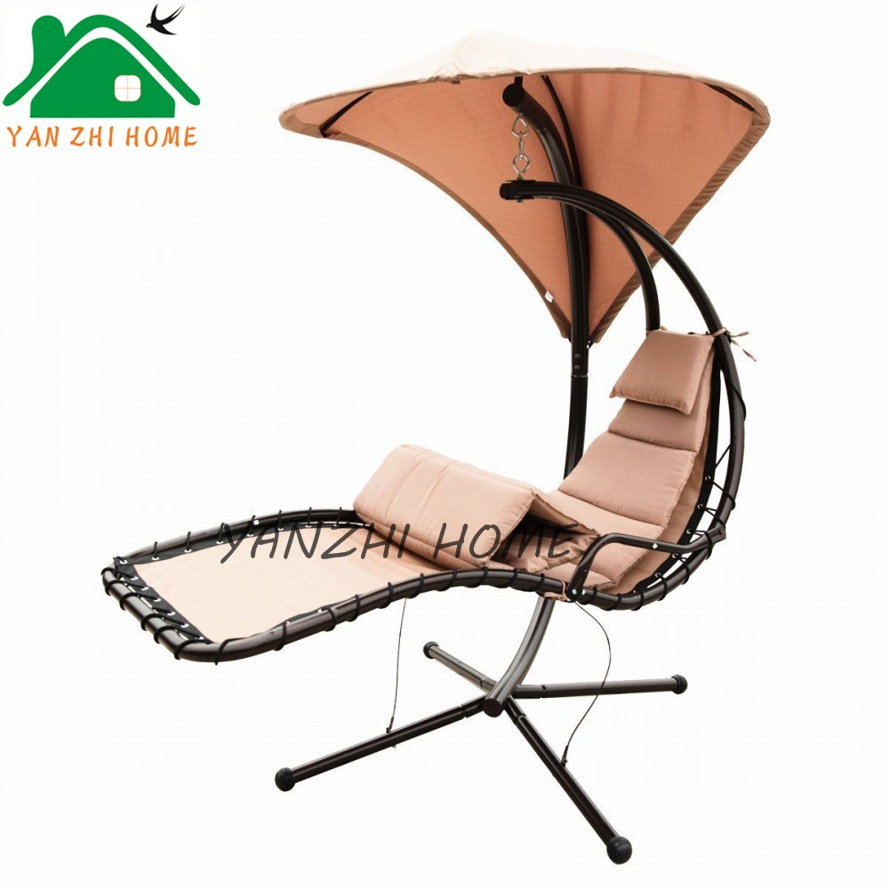 best products hanging chaise lounger chair arc stand air porch swing hammock chair canopy teal. Black Bedroom Furniture Sets. Home Design Ideas
