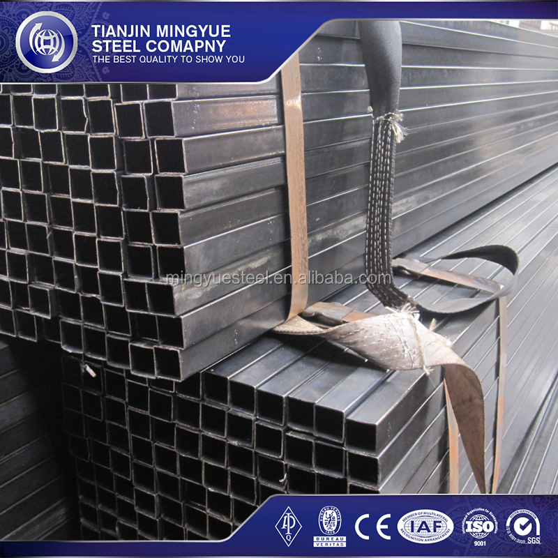 Latest building materials galvanized steel hollow sections rectangle