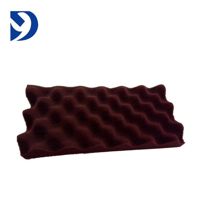 sound proofing foam egg crate/sound absorbing egg shell foam