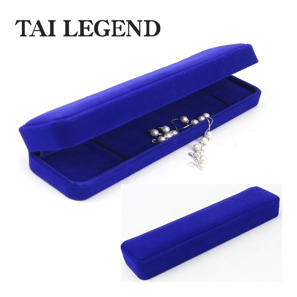 China manufacturer jewelry gift boxes necklace / bangel jewelry velvet packaging boxes