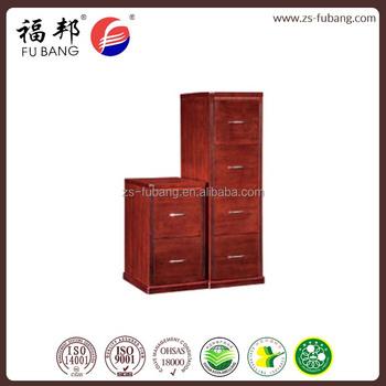 Distressed Laptop Wood Veneer 6 Drawer Filing Storage Cabinet ...