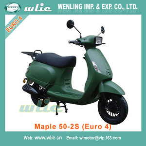 2018 New chopper moped chinese vespa scooters scooter parts Maple-2S 50cc, 125cc (Euro 4)