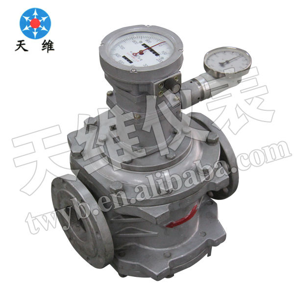 Diesel oil & Low pressure flow meter & aluminum alloy Roots flow meter(Flowmeter)