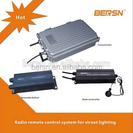 Advanced Intelligent Wireless Remote Control System for solar lamp LED & HID Street Lighting with Network mode and PLC mode