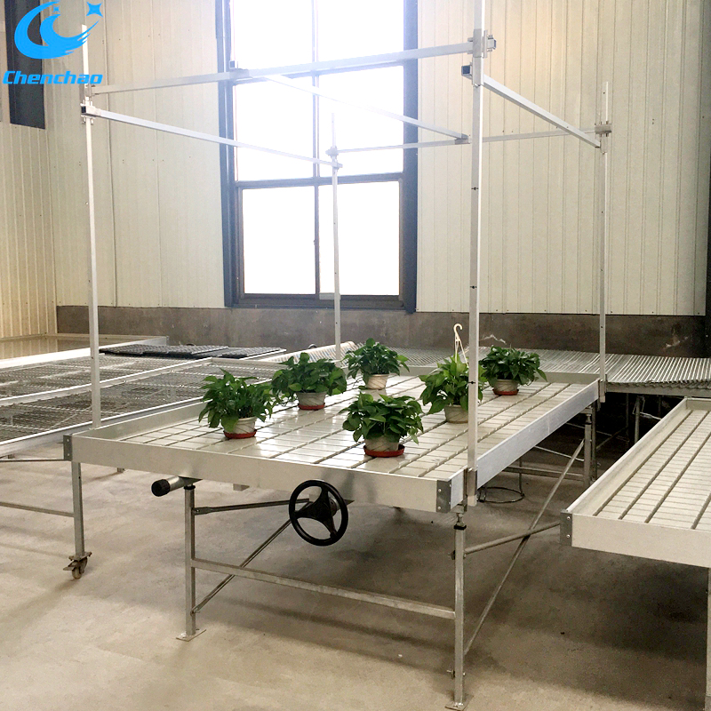 Green house equipment rolling benches sell in America