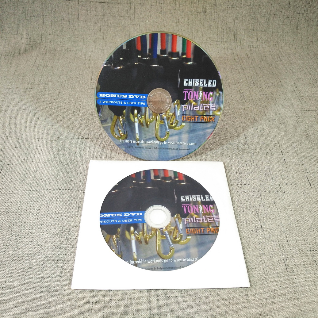 CD DVD Replication CD DVD Duplication in White Paper sleeve